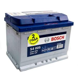 Аккумулятор BOSCH S4 005 6 CT-60, обратная полярность