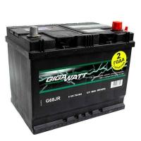 Аккумулятор GIGAWATT G68JR 6 CT-68, прямая полярность